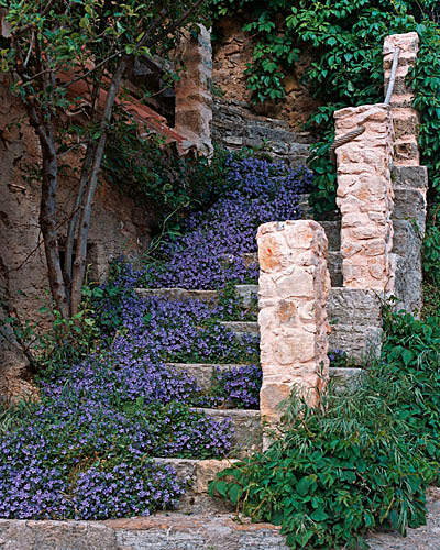 Stairway to a Secret Garden - France