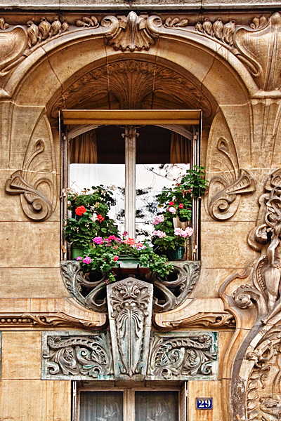 Art Nouveau Window #1 - Paris