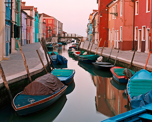 First Light - Burano, Italy