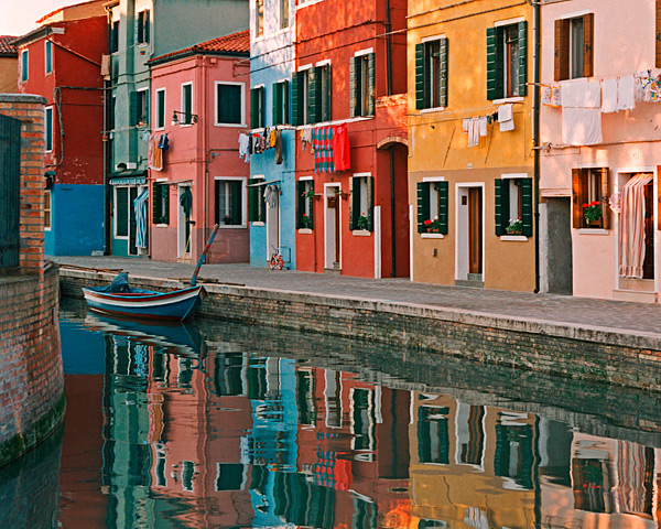 Reflections - Burano, Italy