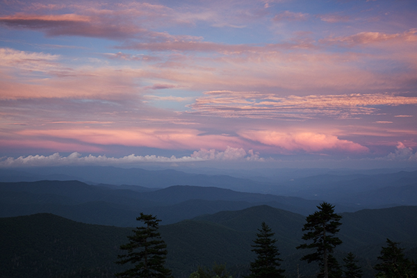 Sunset #1 - Clingmans Dome