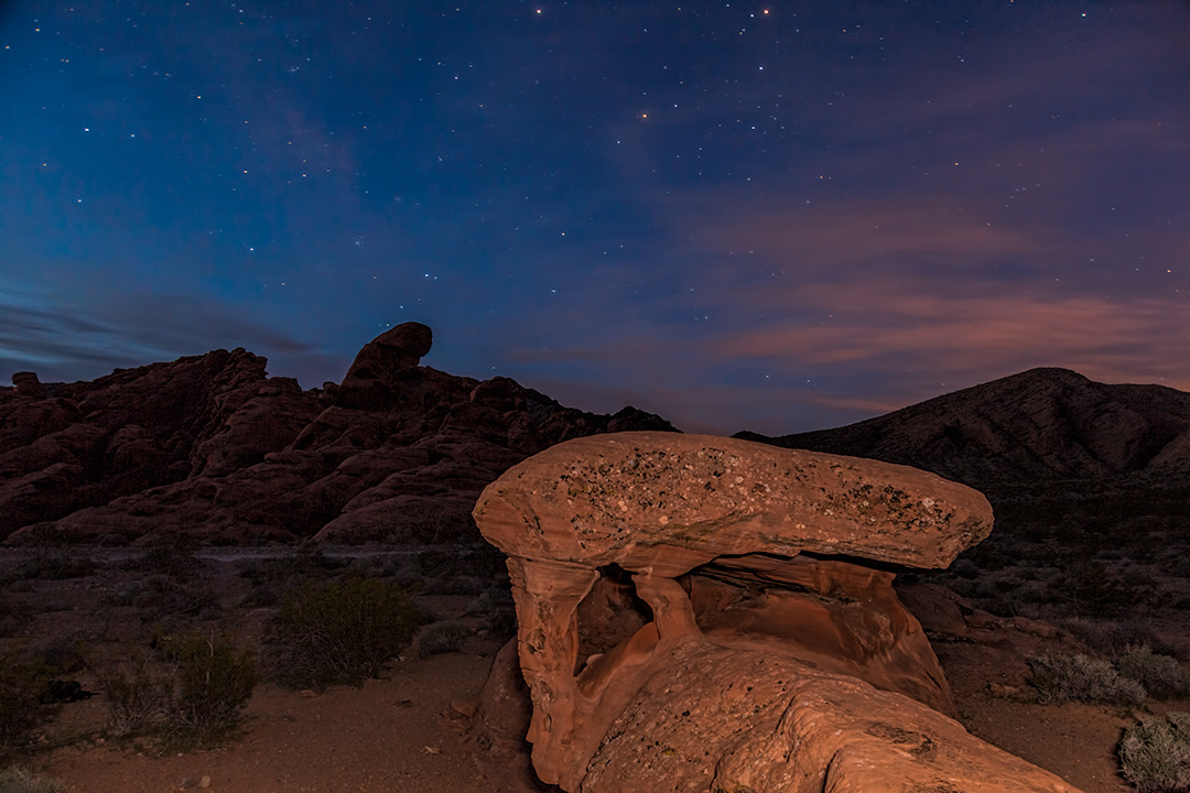 Just before dawn - Valley of Fire