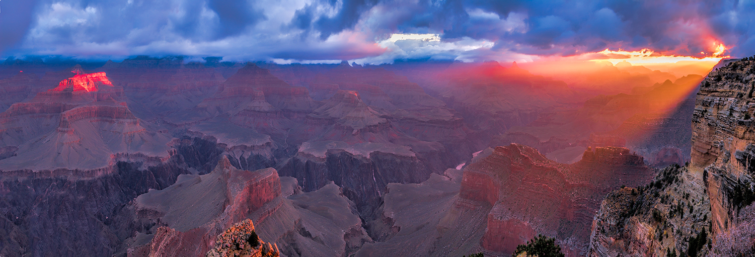 God's Light Grand Canyon