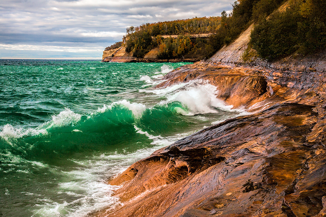 Pictured Rocks fall color field workshop
